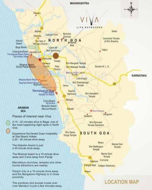 Images for Location Plan of Raheja Viva