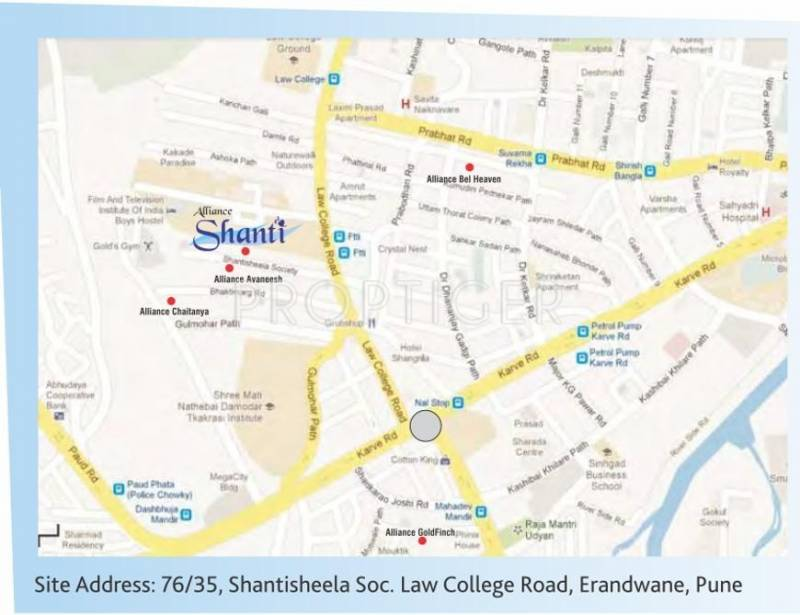 Images for Location Plan of Alliance Shanti