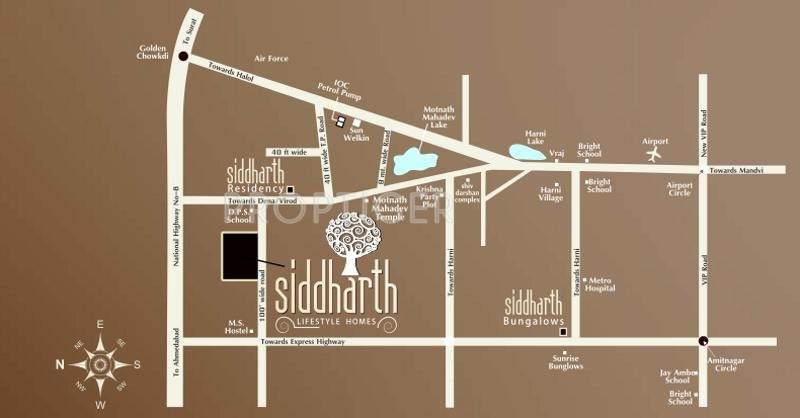 Images for Location Plan of BR Siddharth Lifestyle Homes