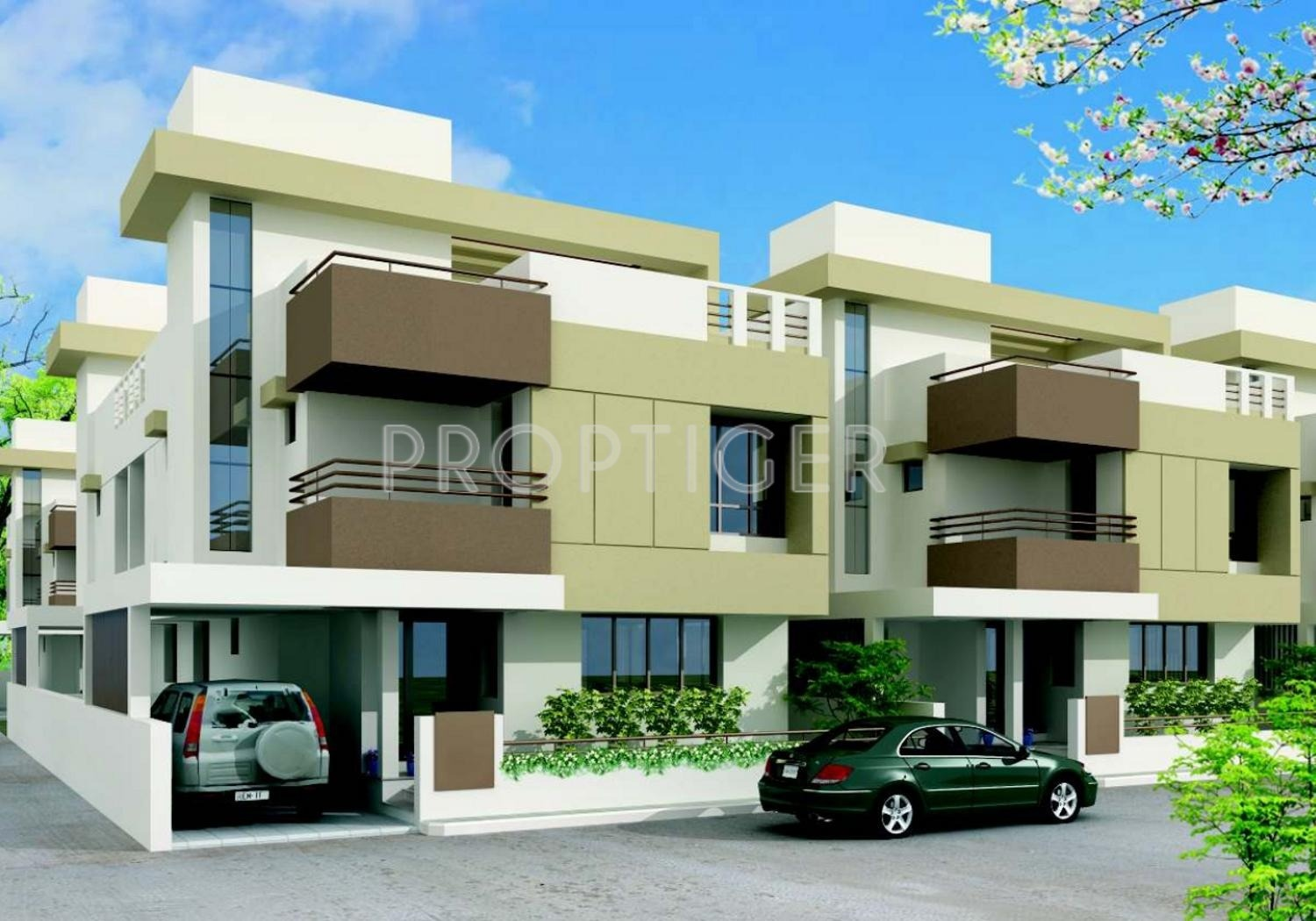 1982 Sq Ft 3 Bhk 3t Villa For Sale In B R Patel Siddharth