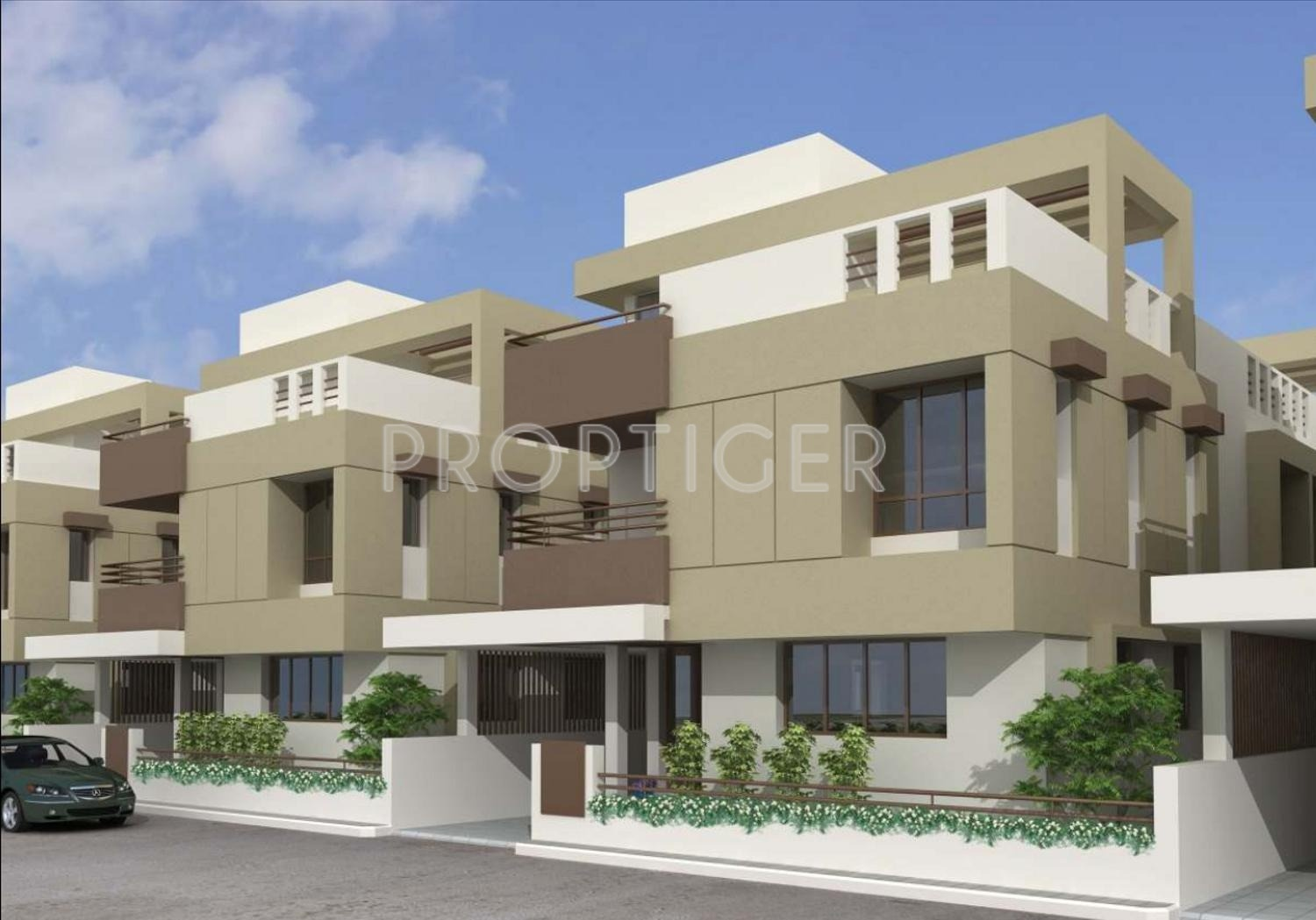 Main Elevation Image 2 Of B R Patel Siddharth Lifestyle