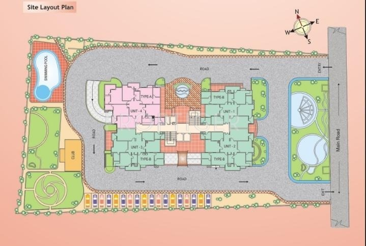 Images for Site Plan of Eldeco Empereur