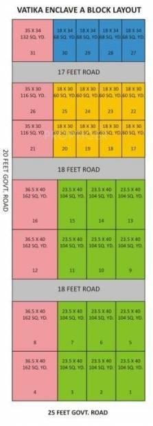 Images for Layout Plan of United Vatika Enclave AB