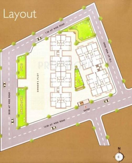 Images for Layout Plan of BR Sidhdharth Vertica