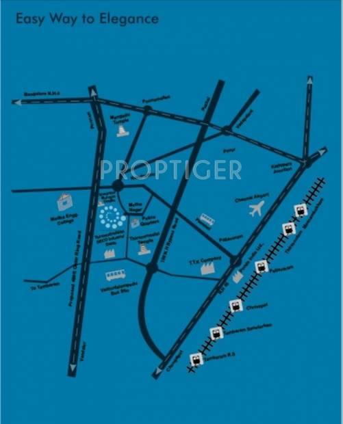 Images for Location Plan of Sumathi Elegance