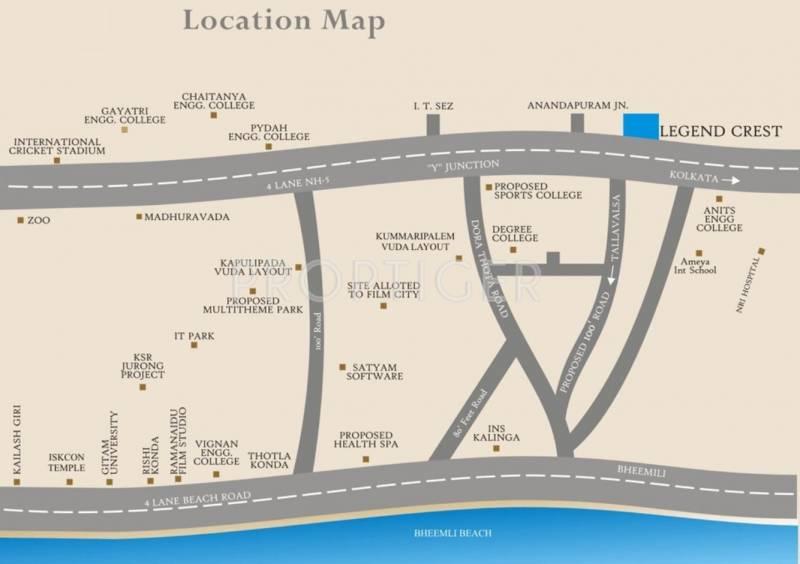crest Images for Location Plan of Legend Crest