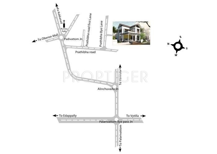 Images for Location Plan of National Merry Land Villas