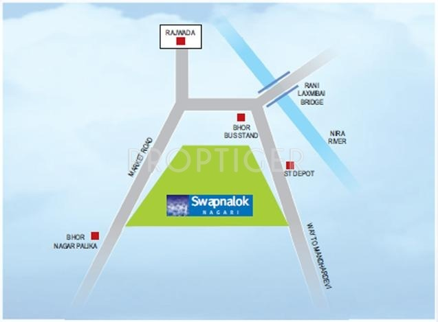 Images for Location Plan of Swapnalok Swapnalok Nagari