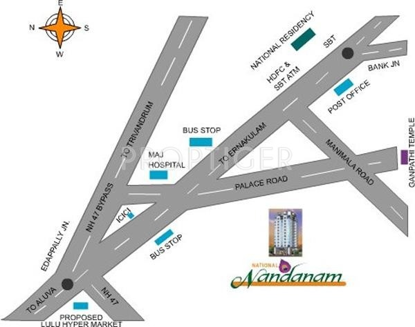 Images for Location Plan of National Nandanam