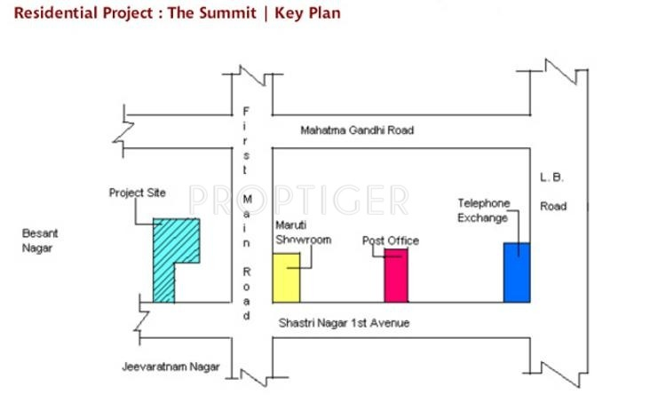 Images for Location Plan of Chaitanya The Summit