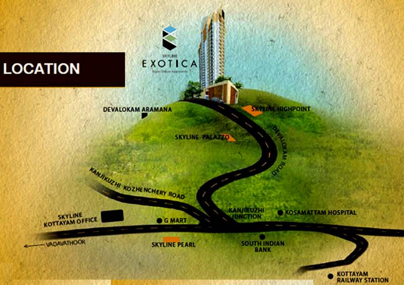 Images for Location Plan of Skyline Skyline Exotica