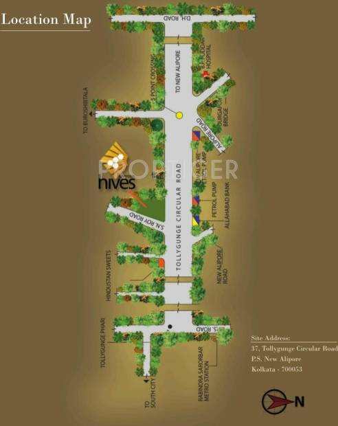 Images for Location Plan of Daffodil Hives