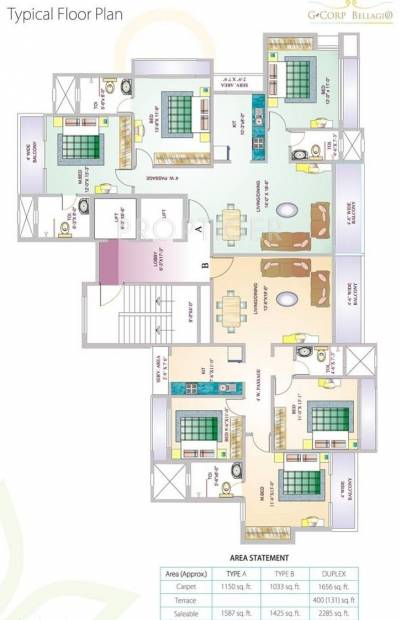 Images for Cluster Plan of G Corp Group Bellagio