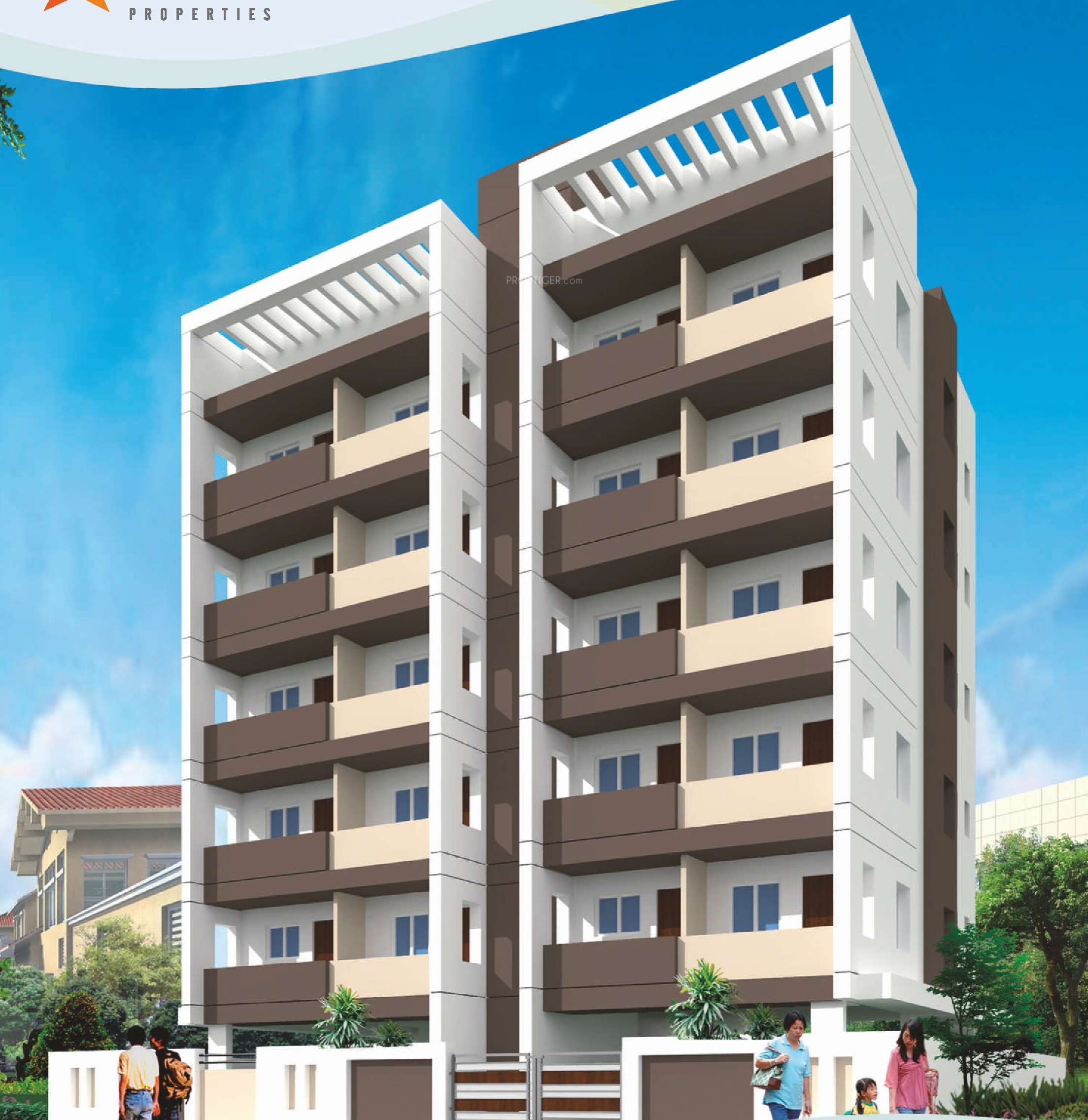 1100 sq ft 3 bhk 2t apartment for sale in vaishno vandana for Teak wood doors in visakhapatnam