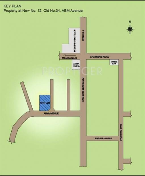 Images for Location Plan of Chaitanya Expressions