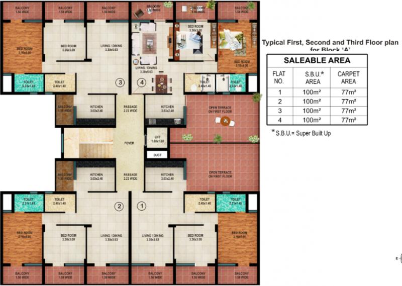 Images for Cluster Plan of Raj Raj Aguiar Enclave