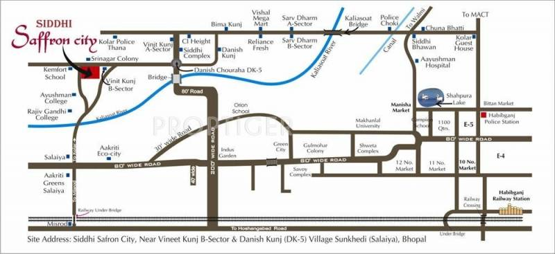 Images for Location Plan of Siddhi Saffron City
