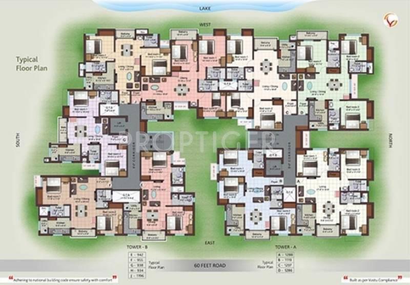 Images for Cluster Plan of Visthara Sai Niketan
