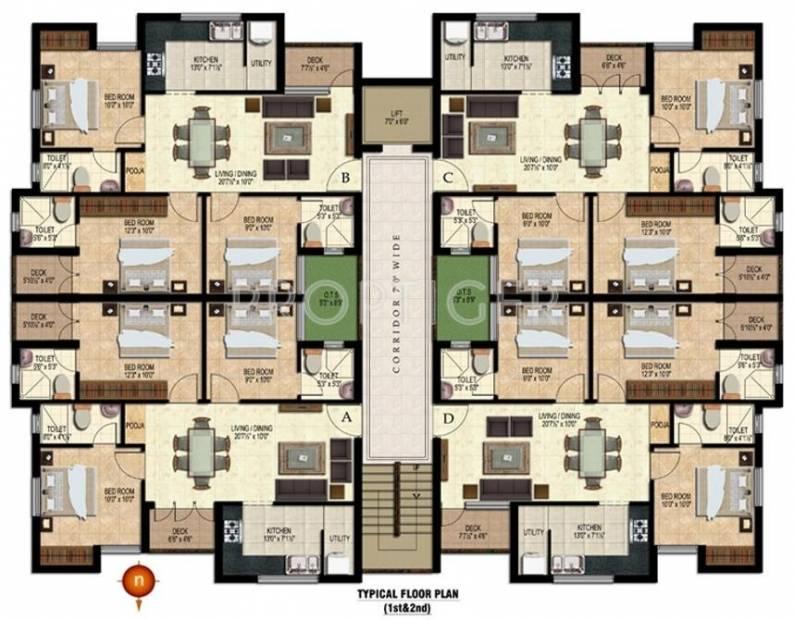 Images for Cluster Plan of Arasur Builders Aashirwad