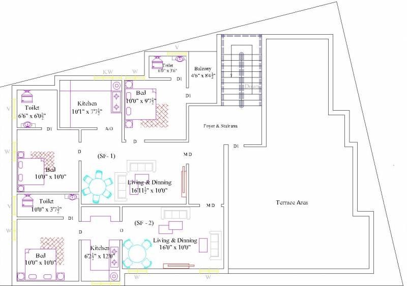 Images for Cluster Plan of RR Santhosam