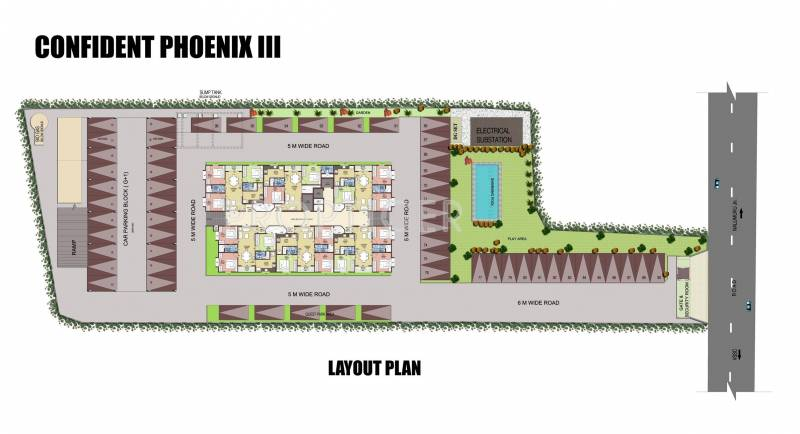 Images for Layout Plan of Confident Phoenix III