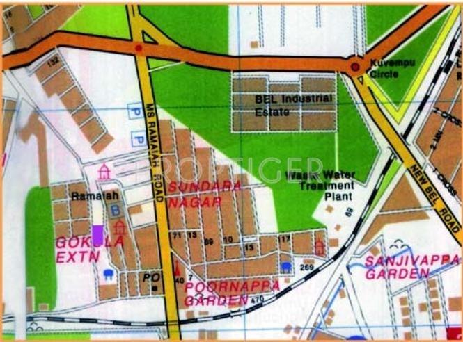Images for Location Plan of Narayan Raghuram Regency