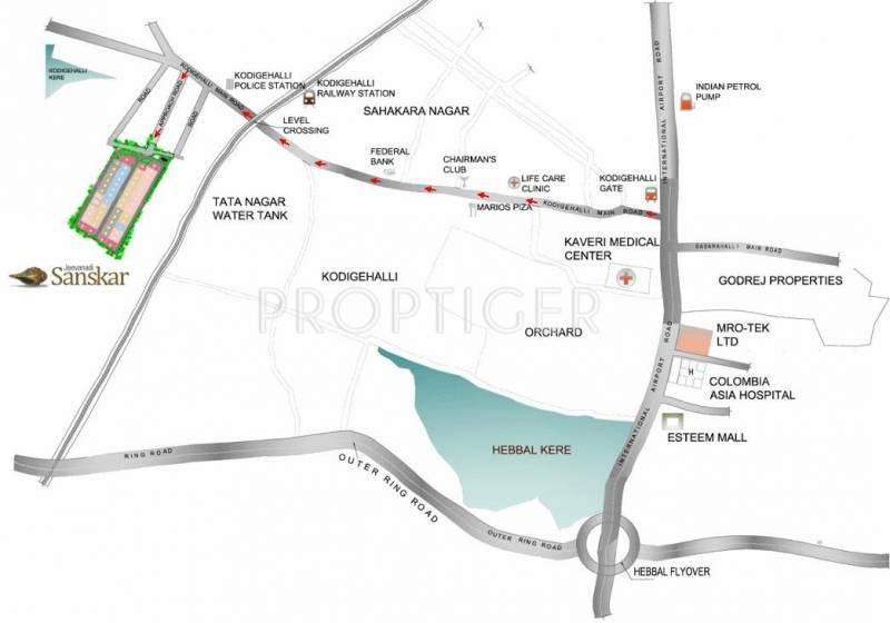 Images for Location Plan of Sreenidhi Realtors Jeevanadi Sanskar