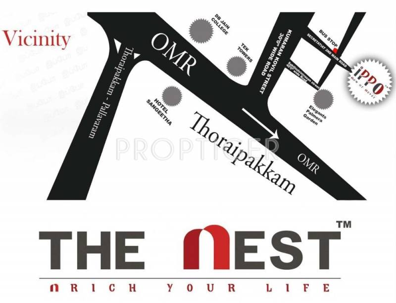 Images for Location Plan of The Nest Ippo