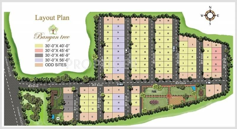 Images for Layout Plan of Linea Shelters Banyan Tree
