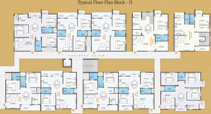 Images for Cluster Plan of VR Shobha Meadows