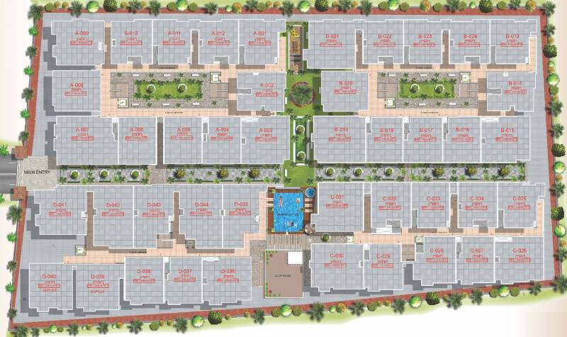 Images for Layout Plan of VR Shobha Meadows