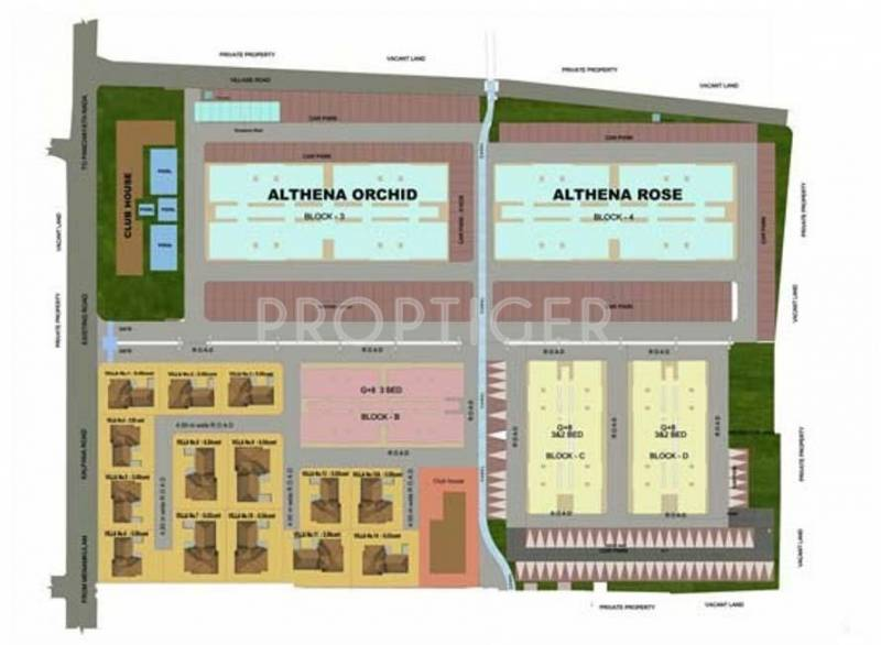 althena Images for Layout Plan of Confident Althena