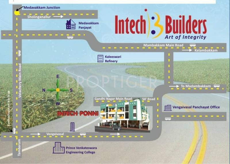 Images for Location Plan of Intech Ponni