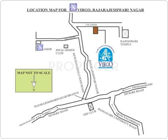 Images for Location Plan of Narayan Virgo