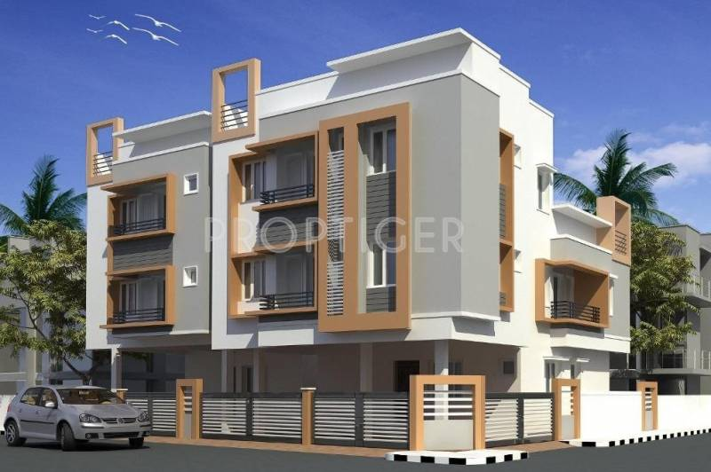 Images for Elevation of Jasmine Visaka Flats