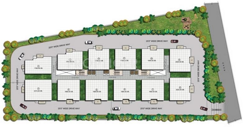 Images for Layout Plan of Aparna Constructions Hights II