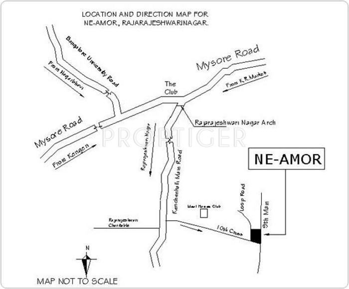 Images for Location Plan of Narayan Ne Amor