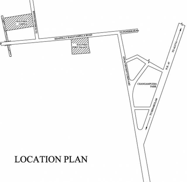 Images for Location Plan of Kalpaka Builders Kalpaka Castle