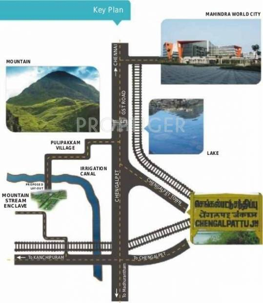 Images for Location Plan of Green Mountain Stream Encalve Villa