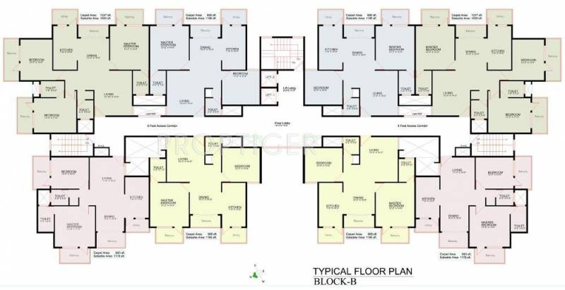 Images for Cluster Plan of Manar Elegance