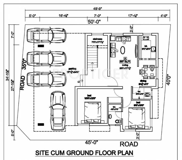 Images for Cluster Plan of Jasmine Aditi Flats