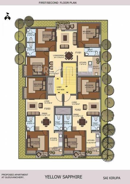 Images for Cluster Plan of M2 Sai Kirupa