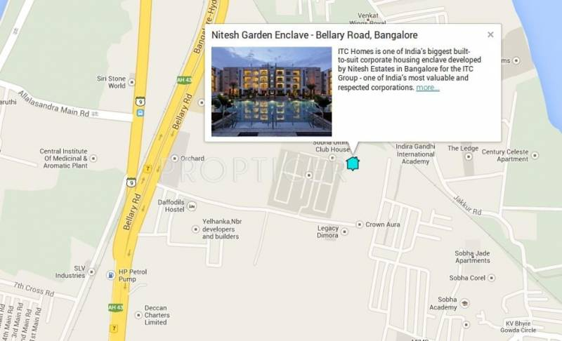 Images for Location Plan of Nitesh Estates Garden Enclave