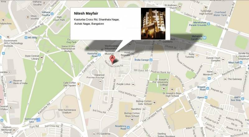 Images for Location Plan of Nitesh Estates Mayfair