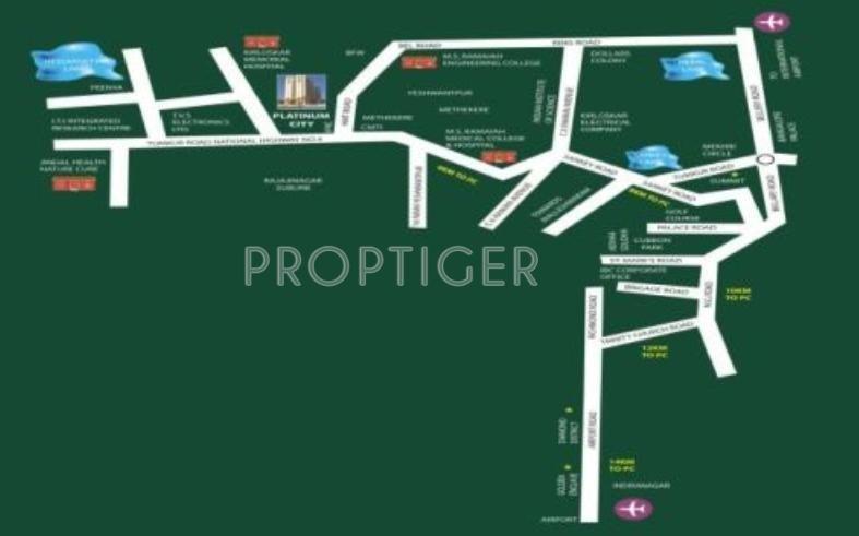 platinum-city Images for Location Plan of IBC Platinum City