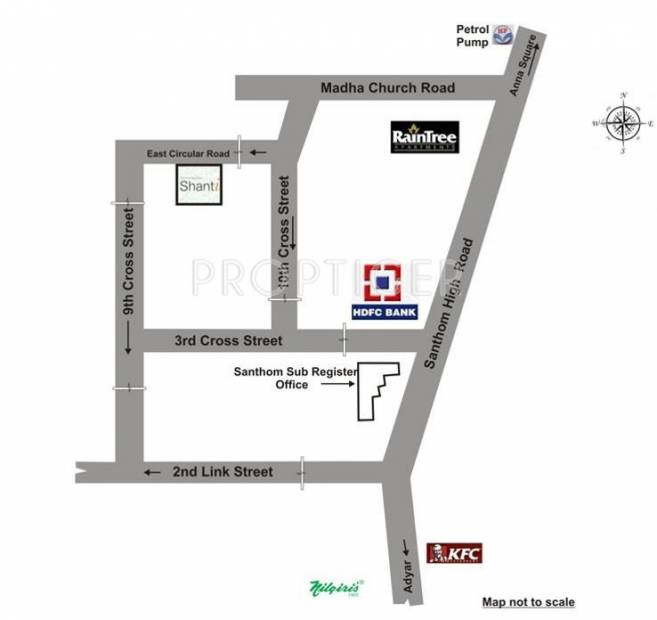Devinarayan Shanti Location Plan