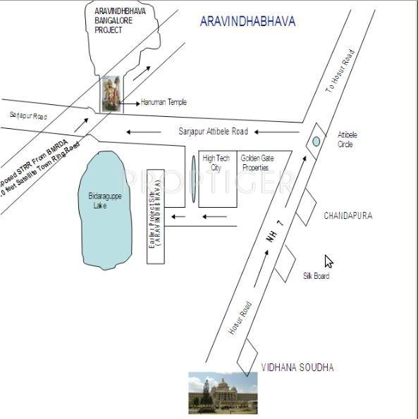 Images for Location Plan of Sree Balaji Krupa Enterprises Sree Aravindhbhava