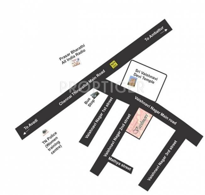 Images for Location Plan of Devinarayan Vaishnovi