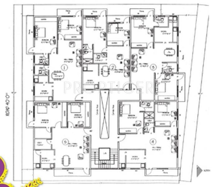 Images for Cluster Plan of Magnum Srinidhi