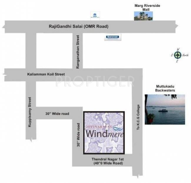 windmere Images for Location Plan of Devinarayan Windmere